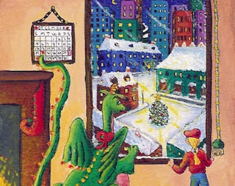 Spike's Christmas in the City, by Christine Mix, copyright 1996.