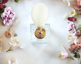 The Garden of the Leopard-Perfume Bottle -Vintage Style Bulb Atomizers-50 ml -