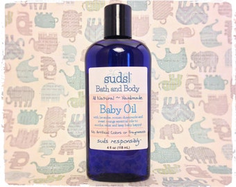 Baby Oil - 100% Natural