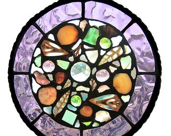 Stained Glass and Sea Shell Suncatchers