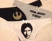 Han Solo Triple Panty Set
