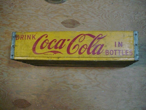 1957 coca cola affaire caisse coke charleston en caroline du. Black Bedroom Furniture Sets. Home Design Ideas