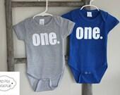 First Birthday Onesie Tee - Cake Smash - baby boy-  boys birthday - First Birthday - Ready to Ship