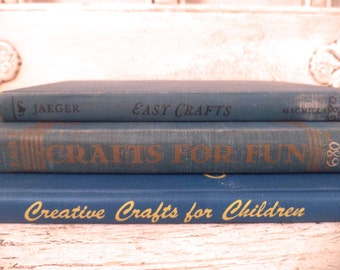 Vintage Arts and Crafts Book Collection - Instant Library - Crafts for Kids - 1940s