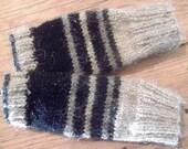 KNITTED GLOVES / WRISTWARMERS, handmade, fingerless, mittens, winter,accessories
