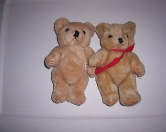 "Set of 2 8"" Teddy Bears"