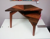 Tiered Offset Hexagonal Table