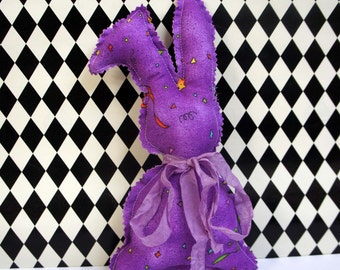 Purple Celebration Bunny Rabbit