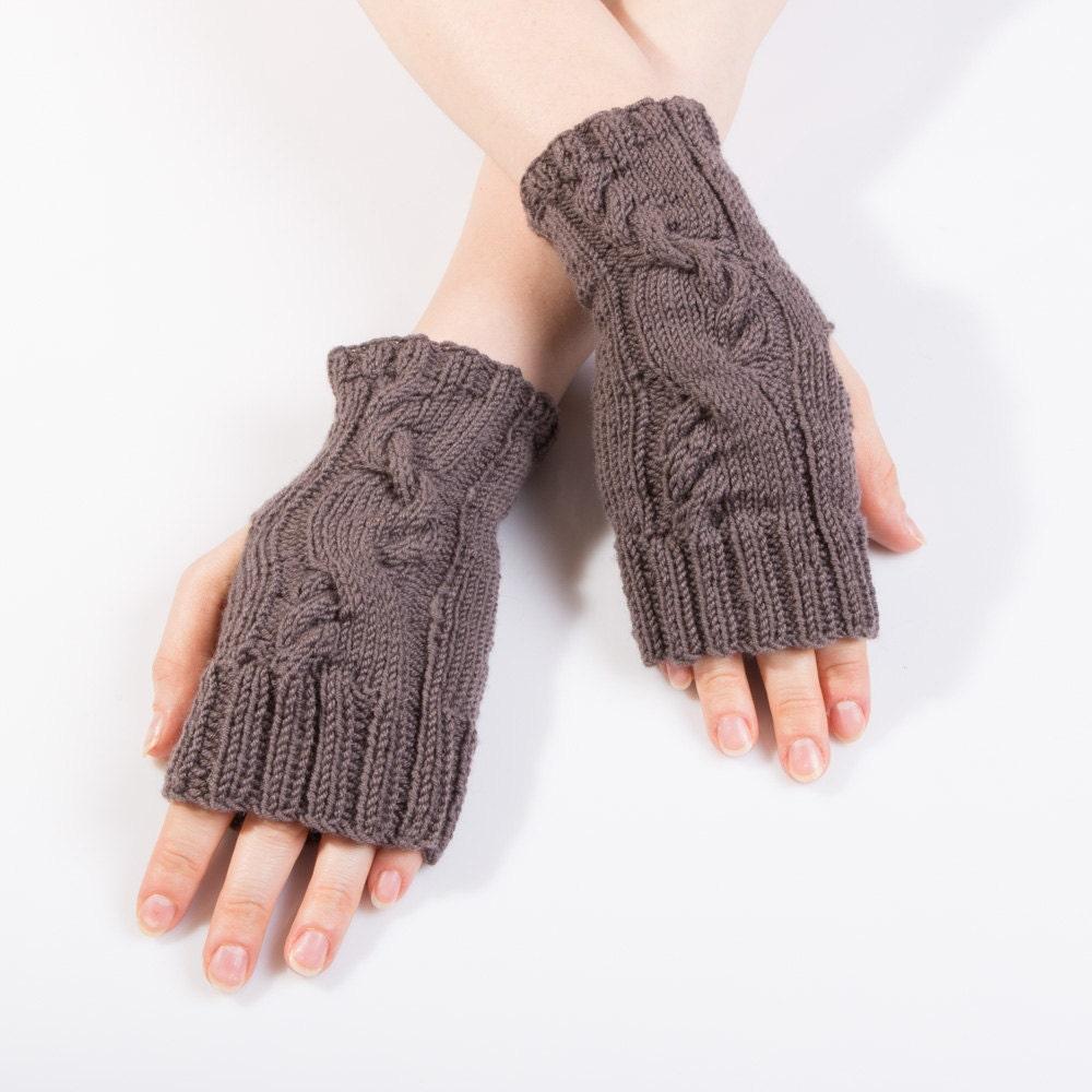 Merino Wool Knitting Patterns : saleHand knit merino wool mittens