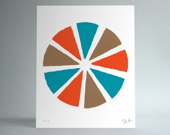 Untitled (Pinwheel / Orange)
