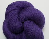 Ultaviolet Blue Recycled Merino Yarn, 478 Yards Available in 1 Skein, Lace Weight Blue Violet Merino Yarn