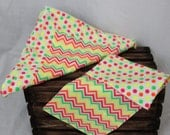 Bright 100 percent cotton soft flannel Baby Receiving Blanket Burp cloth is Ready to ship