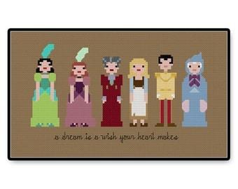 Cinderella - Cross Stitch PDF Pattern