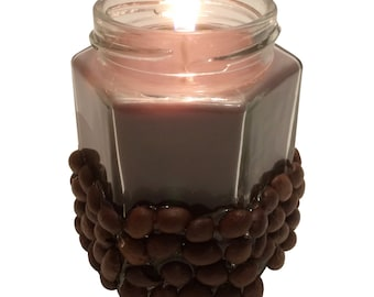 Coffee Lovers Delight Coffee Scented Candle in Decorative 6.5 Oz. Jar