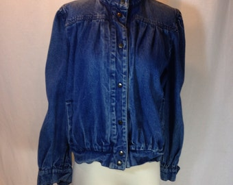 Vintage 1980's demin jacket by Dawn