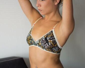 spandex bra // lingerie handmade