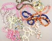 Wholesale  Stone Necklaces. Stone Chip. Lapis. Labradorite. Quartz . Agate. Citrine. No.001512 hs