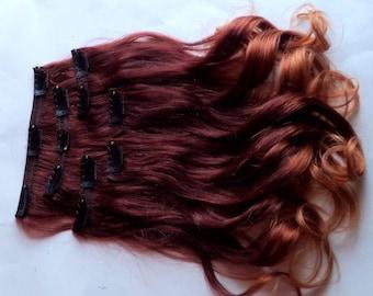Custom Hair Extension Order for Erica