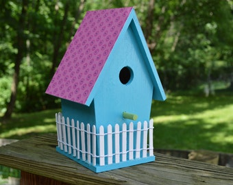 Customized Birdhouse