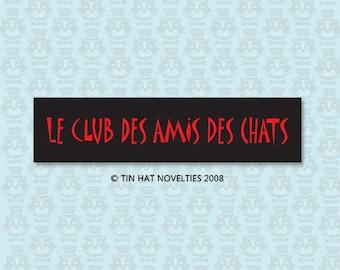 Le Club Des Amis Des Chats