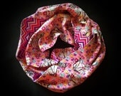 Floral Princess Infinity Scarf
