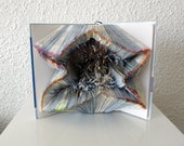 "Book Art Sculpture ""Star"""