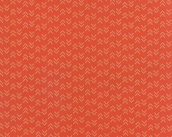 Nomad Arrowhead in Adobe Orange, Urban Chiks, 100% Cotton, Moda Fabrics, 31106 13