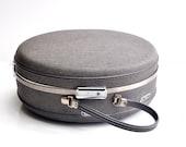 Mid-Century Round American Tourister Suitcase