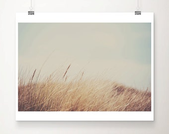 beach photography beach grass photograph beach house decor beach print beach grass print mint home decor nature photography
