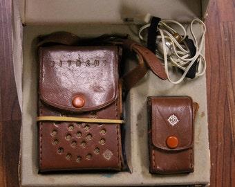 Vintage Hitachi Transistor Radio 666