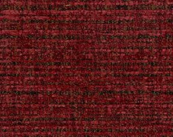 Textured Chenille with a play on the linen trend -Texture and Depth - Upholstery Fabric - Duty Free Canada - Color: Chili Red -per yard