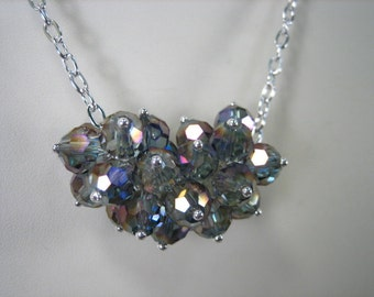 Lilac Cluster Necklace