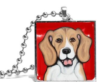 Freedom the Beagle Necklace - Original Design
