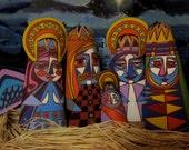 Psychedelic Nativity Scene