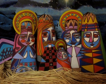 Psychedelic Nativity Scene