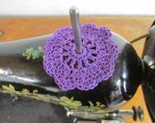 Spool Pin Doily (Purple)