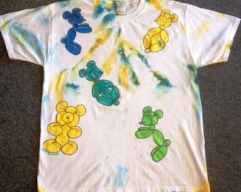 Adult size LARGE Balloon Teddy Bear T-shirt