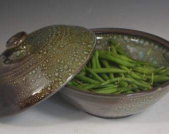 Stoneware Vegetable Steamer, ceramic vegetable steamer, handmade pottery, functional pottery, steamer