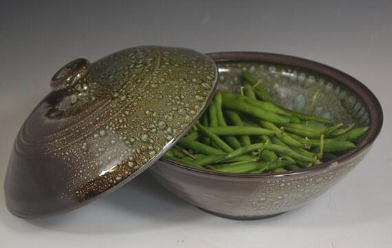 Stoneware Vegetable Steamer Ceramic Vegetable Steamer