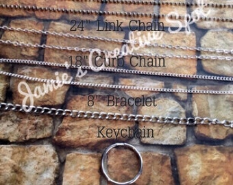 Custom stamped jewelry options