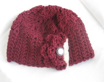 Pearl & Lace Hat