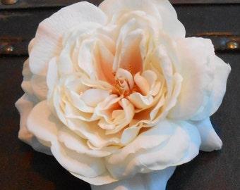 Ivory Silk Rose / Silk Flower / Silk Rose / Crafting Flowers / Silk Flowrs / Rose / Cream Rose / Wedding Flowers / Sophia Ivory Rose