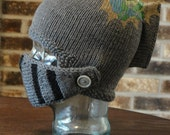 INSTANT Download PDF - KNIT Sir Knight Helmet Pattern
