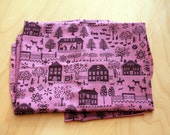 Liberty of London Lucy's Farm tana lawn rare fabric 24 x 25 inch 1/3 yard farm novelty LAST PIECE