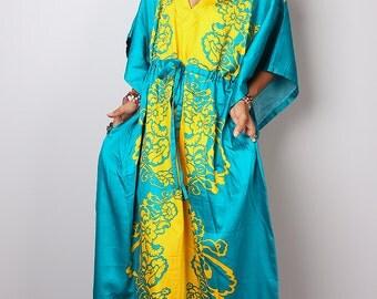 Caftan Dress /  Long Boho Summer Dress : Bohemian Kaftan Collection No.1
