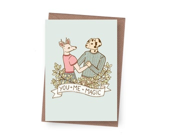 SALE Magic Greeting Card