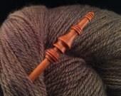 Sapele Shawl Pin Stick