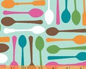 Cream and Sugar - Spoons by Ampersand Design Studio from Windham Fabrics