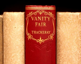 Vintage Vanity Fair book by William Makepeace Thackeray