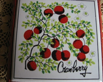 Cranberry Kitchen Trivet